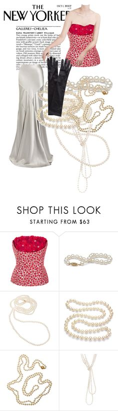 """Untitled #264"" by gina-stewart75 on Polyvore featuring Oscar de la Renta, Ralph Lauren Black Label, DaVonna, Cathy Waterman, Chanel and John Lewis"