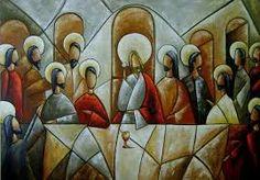 Resultado de imagen para pintura religiosa ultima cena