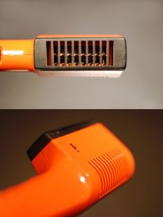 We used to have this hairdryer. Always too hot, I remember...