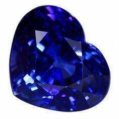 Blue Sapphire Heart