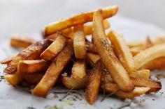 The Chew Time Machine: Carla Hall Dynamite Disco Fries Recipe Disco Fries Recipe, Turnip Fries, Food Network Recipes, Cooking Recipes, Making French Fries, French Fries Recipe, Raw Potato, The Chew, Salads