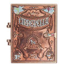 SOLD OUT Cinderella Storybook Pin - D23   Pins (Individual)   Disney Store