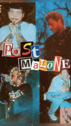 Rapper Wallpaper Iphone, Iphone Background Wallpaper, Aesthetic Iphone Wallpaper, Bedroom Wall Collage, Photo Wall Collage, Post Malone Wallpaper, Post Malone Lyrics, Look Wallpaper, Dope Wallpapers