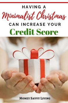 Thinking about cutting down on Christmas gifts and holiday spending this year? Besides saving a lot of money, there are several reasons why having a miminalist Christmas can actually increase your credit score! Open On Christmas, Christmas Signs, Christmas Crafts, Christmas Holiday, Christmas Recipes, Frugal Christmas, Christmas Printables, Holiday Fun, Holiday Ideas