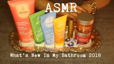 ASMR What's New In My Bathroom  🛁  Body and Skincare Products ~ Whispered