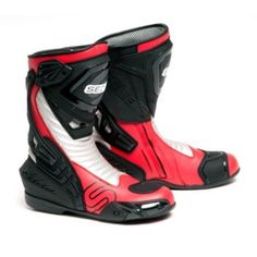 SEDICI - Ultimo Leather Motorcycle Boots - Race - Motorcycle Boots - Street - CycleGear - Cycle Gear