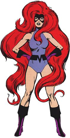 Medusa of the Inhumans - at the very least, killer visuals. Hope she appears in a movie to see the hair thing in full motion.