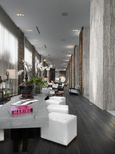 Having created a name as the global power-house in modern hotel design, the fabulous W hotel Miami does not disappoint. Scale, texture and space commands this imposing design, making it seem ever so effortless and timelessly chic!
