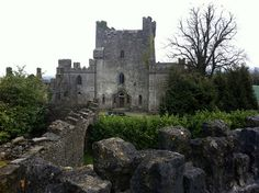Leap Castle, Kinnitty, Co Offaly, Ireland  Considered one of the most haunted places in Europe. Eek!