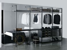 Porro / Storage / cabina walk in wardrobe