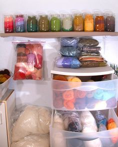 wool-storage | Things have grown since the days when I could… | Flickr