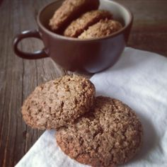 Stacey Deering: Protein Oatmeal Cookie