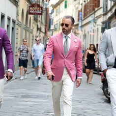 Pink plain jacket