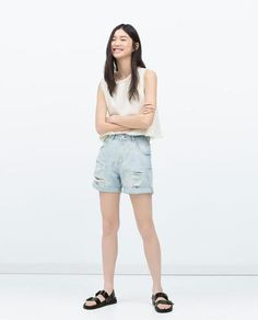 Love this shorts from zara!!  #covetme