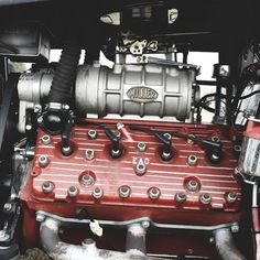 What a great picture of a classic 'blown' Ford flathead!