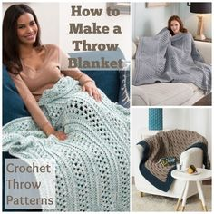How to Make a Throw Blanket: Crochet Throw Patterns