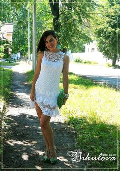 Baby Doll crochet dress