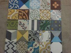 Variáció egy témára MOZA cementlapokból Cement, Quilts, Blanket, Scrappy Quilts, Quilt Sets, Blankets, Log Cabin Quilts, Cover, Comforters