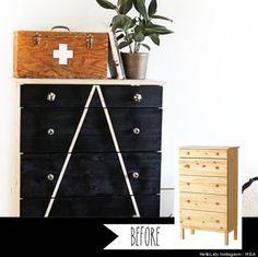 IKEA hack - solid pine dresser