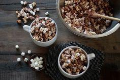 hot cocoa popcorn.