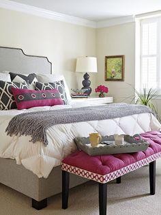 Gray bedroom, home bedroom, master bedroom, bedroom decor, bedroom Home, Bedroom Inspirations, Home Bedroom, Bedroom Makeover, Bedroom Design, Transitional Bedroom, Bedroom Decor, Beautiful Bedrooms, Interior Design