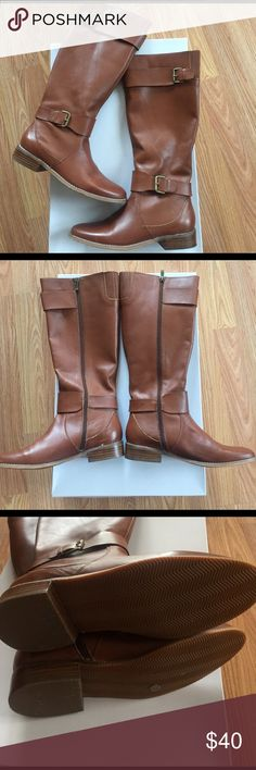 SALE❗️Ellen Tracy Chestnut boot Ellen Tracy Chestnut boot size 7 new never worn perfect for the winter spring transition. Ellen Tracy Shoes