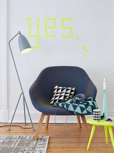 Thoughts On Styling + Studio Besau-Marguerre decor8 blogist. Mulle meeldib see tool. Niisugusel kujul võiks ta olla üks suures ja teine magamistoas