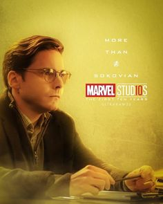Colonel Helmut Zemo More Than A Sokovian Character posters for Marvel Studios' 10th anniversary