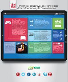 Tendencias educativas en TIC's #infografia #infographic #education