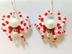 Spiders earrings via Medita jewelry. Click on the image to see more!