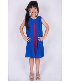 Twon-toned dress