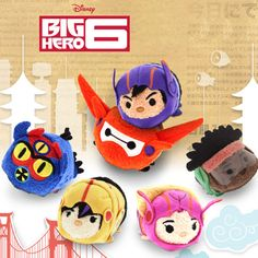 Tsum Tsum Tuesday Gets a Big Hero, or 6!