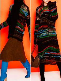 Missoni Missoni, Prints, Sweaters, Dresses, Fashion, Vestidos, Moda, Fashion Styles, Sweater