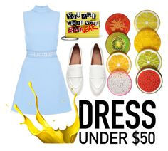 """""""Fruits"""" by dreamer1357 ❤ liked on Polyvore featuring New Look, Jimmy Choo and Dressunder50"""