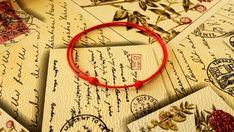 Red String Bracelet Red String Of Fate Kabbalah Bracelet