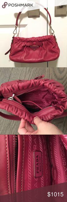 2b870e7aae5da My Posh Picks · NEW PRADA Leather Purse Gorgeous and unique authentic Prada  handbag. Perfect condition and never used
