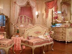 Fantastic miniature bedroom kawaiipastelhime:    i want to be successful in my job to be able to buy myself this room    I hate to be the one to tell you this but that's a miniature room.  Sorry.  But it probably is a pricey room in miniature, so you probably would still have to be successful to buy it.