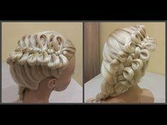 Причёска бантики из волосHairdress bows of hairкоса из бантиков.braid from the bows. - YouTube
