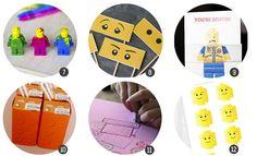 30 recursos para celebrar una fiesta inspirada en LEGO | Cosas Molonas | Blog de Inspiración & DIY |