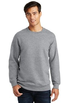 Port & Company PC850 - Fan Favorite Fleece Crewneck Sweatshirt #portandcompany #crewneck