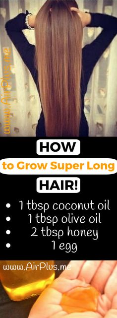 How to Grow Super Long Hair! Apply This Remedy & You'll Never Regret It – Airplus