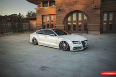 Bagged Audi A7 - CVT