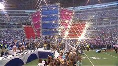 Carrie Underwood - We're Young and Beautiful & Before He Cheats Halftime...