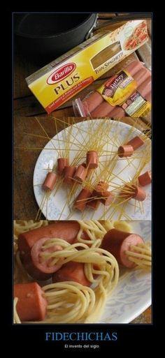 Hot Dog Spaghetti