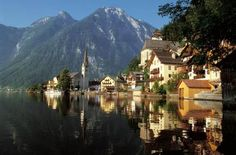 Austria with Hallstatt and Lake Hallstättersee