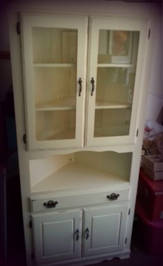 Corner Cabinet Done By Gigiu0027s ReCreations