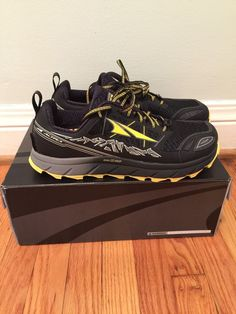 325d4d63e Altra Lone Peak 3.0 Black Yellow Zero Drop Trail Running Shoes Men 10   fashion  clothing  shoes  accessories  mensshoes  athleticshoes (ebay link)