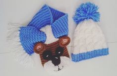 A personal favorite from my Etsy shop https://www.etsy.com/listing/259836554/baby-boys-hat-and-scarf-crochet-beanie