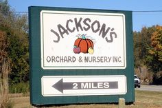 jackson's orchard in bowling green, ky