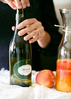 A refreshing sparkling sangria recipe - perfect for spring entertaining